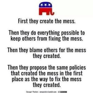 Create the mess